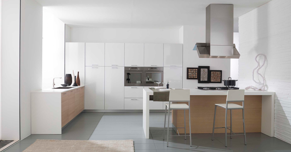 Emejing Cucina Con Piano Snack Contemporary - Home Interior Ideas ...