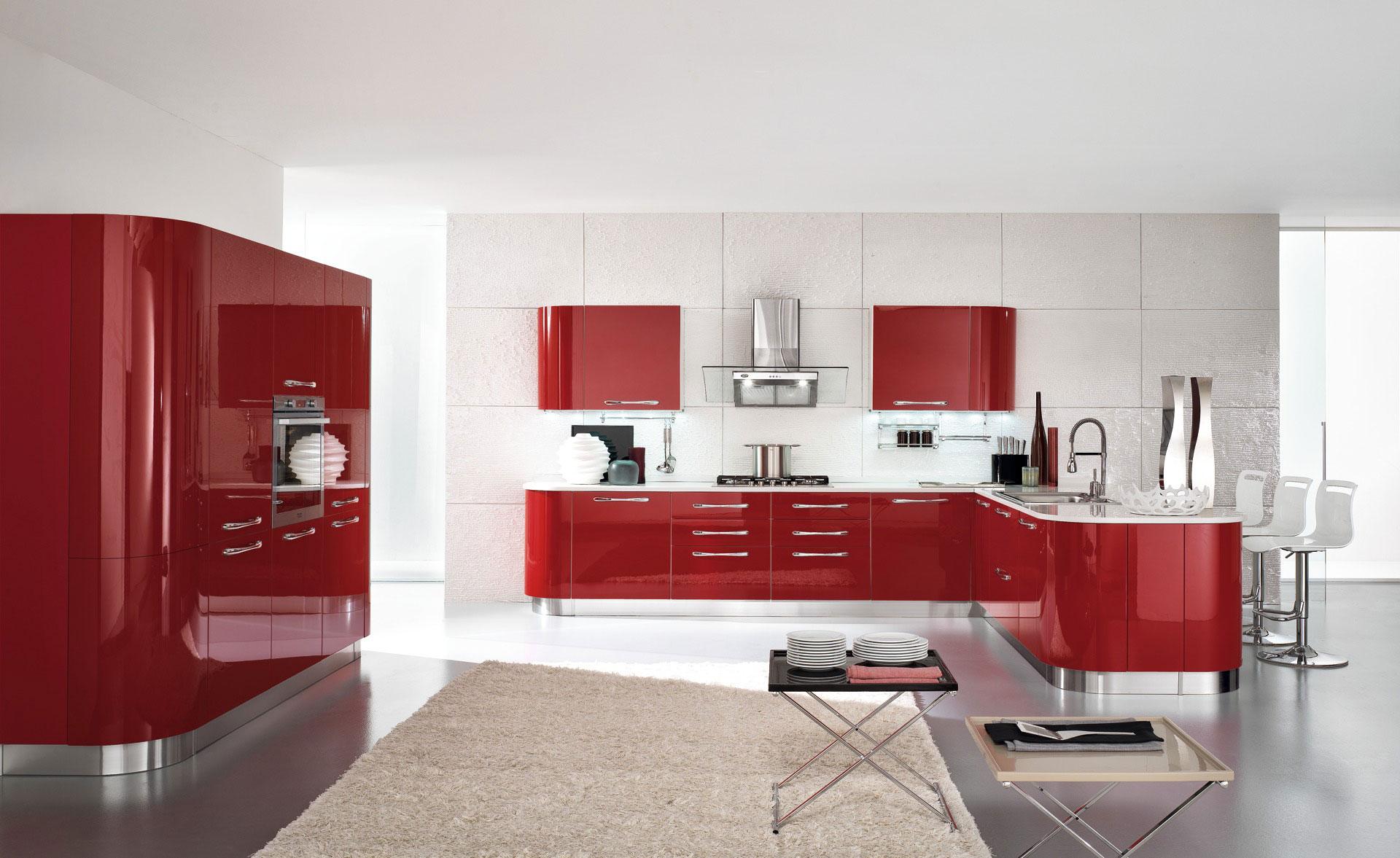 Cucina moderna di